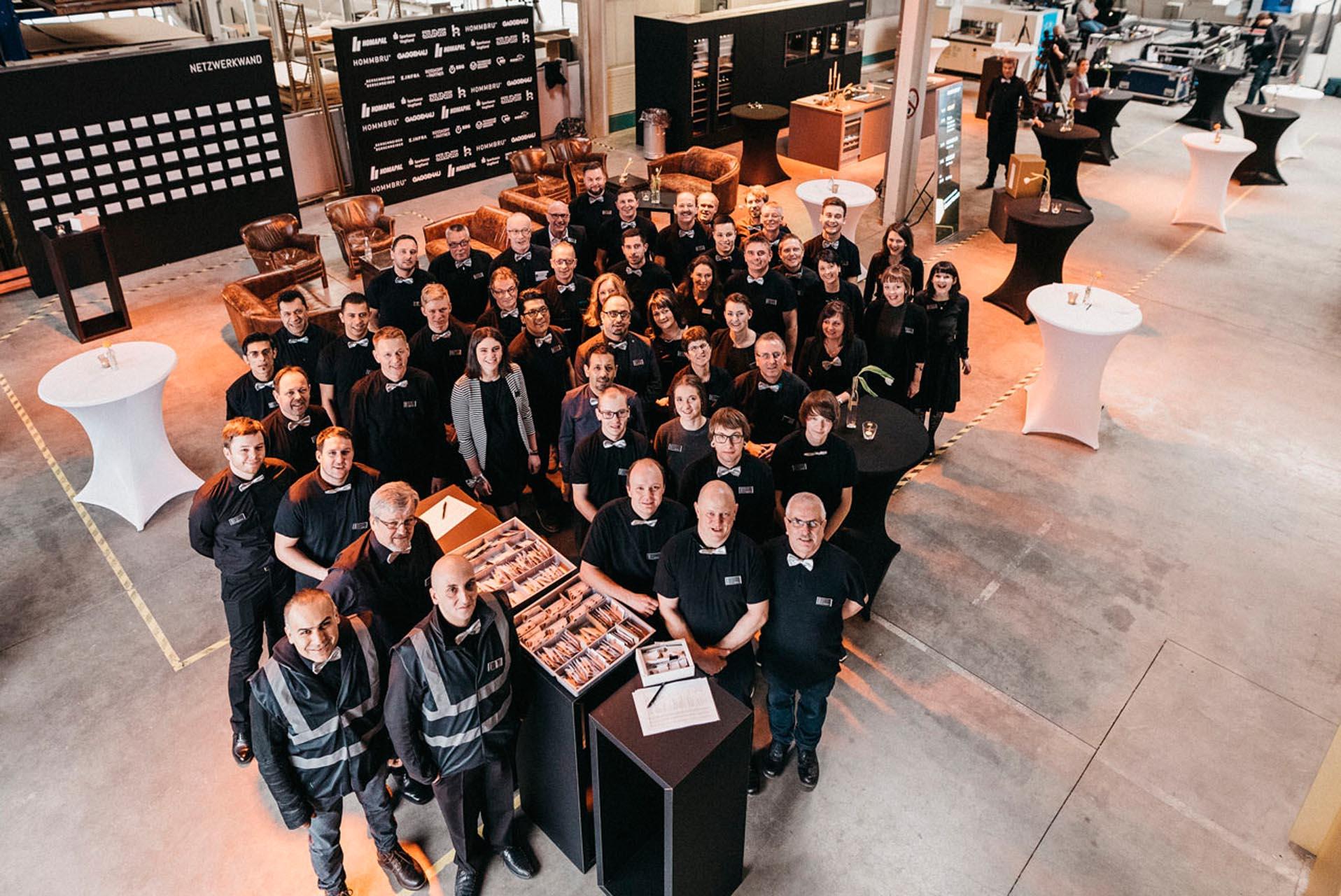 HOMMBRU Team und Manufaktur Hommel