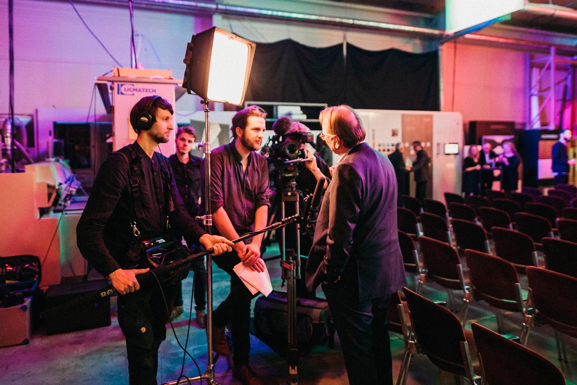 Kamerateam von helldunkel aus Leipzig