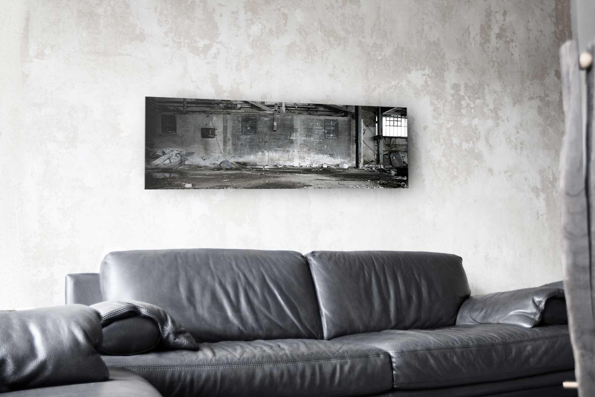 areal unsichtbarer lautsprecher bedruckt wohnzimmer-sofa hommbru
